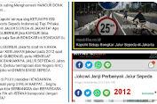 PEDES! Om Wawat 'Tampol' Kapolri terkait 'Bongkar Jalur Sepeda di Jakarta'