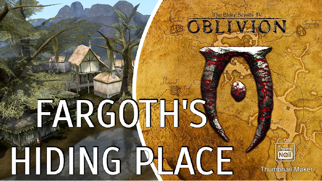 Let's Play OBLIVION | MORROBLIVION 🎮 Fargoth's Hiding Place and a Lot of Talking!
