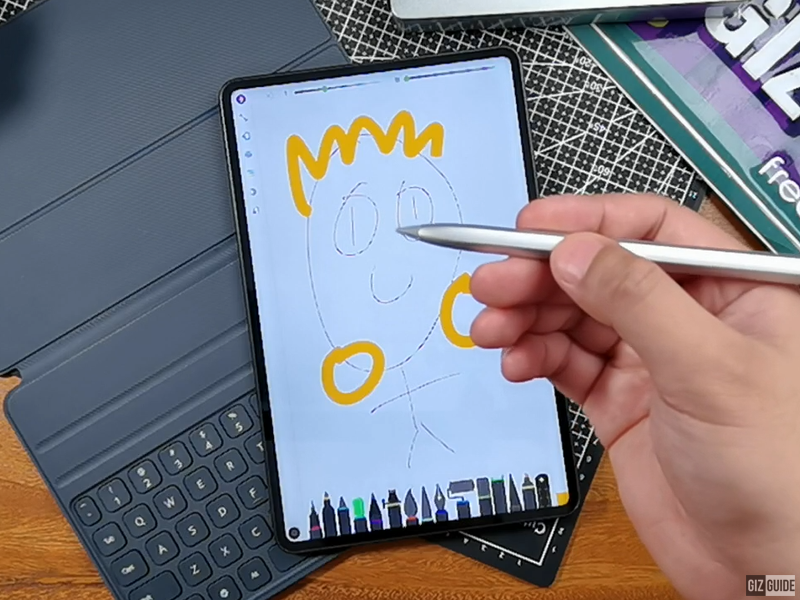 M-Pencil in action