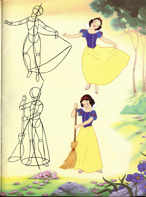 how to draw snow white& 39