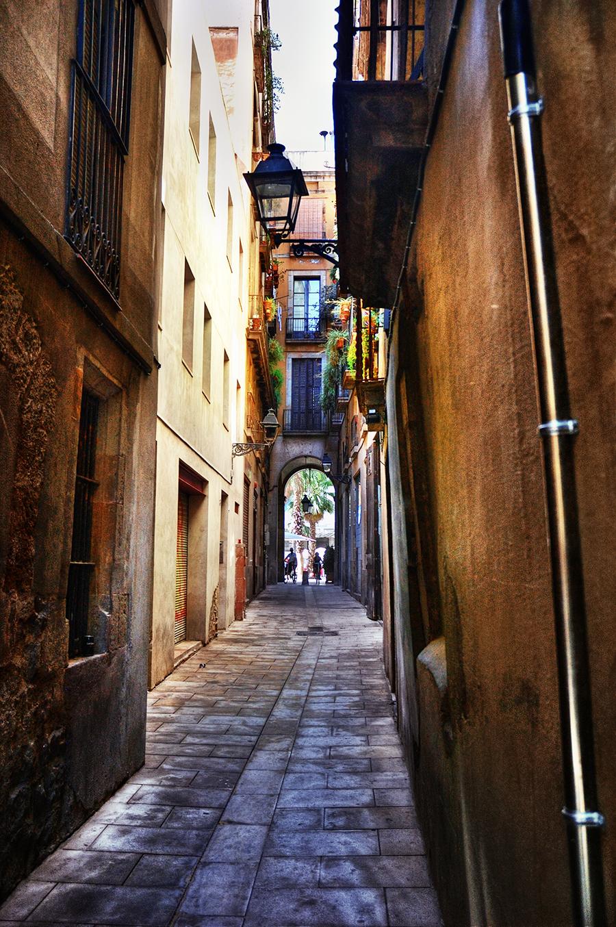 Barri Gotic Carrer Tres Llits Barcelona