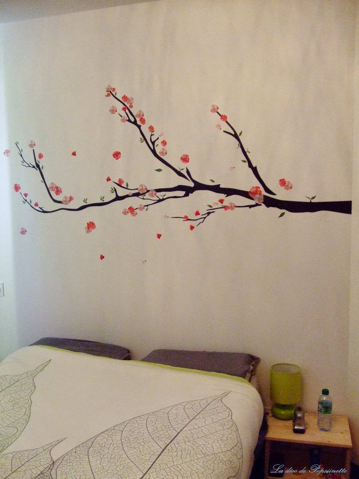 Les Petits Trucs De Popsiinette Un Cerisier Sur Mon Mur
