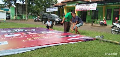 """Pemasangan Baliho """"Kejutan ANTV, Sabtu 9 Maret 2019 @ Lapangan Cokronegoro Limpung"""""""