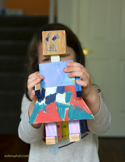 how to make wood doll