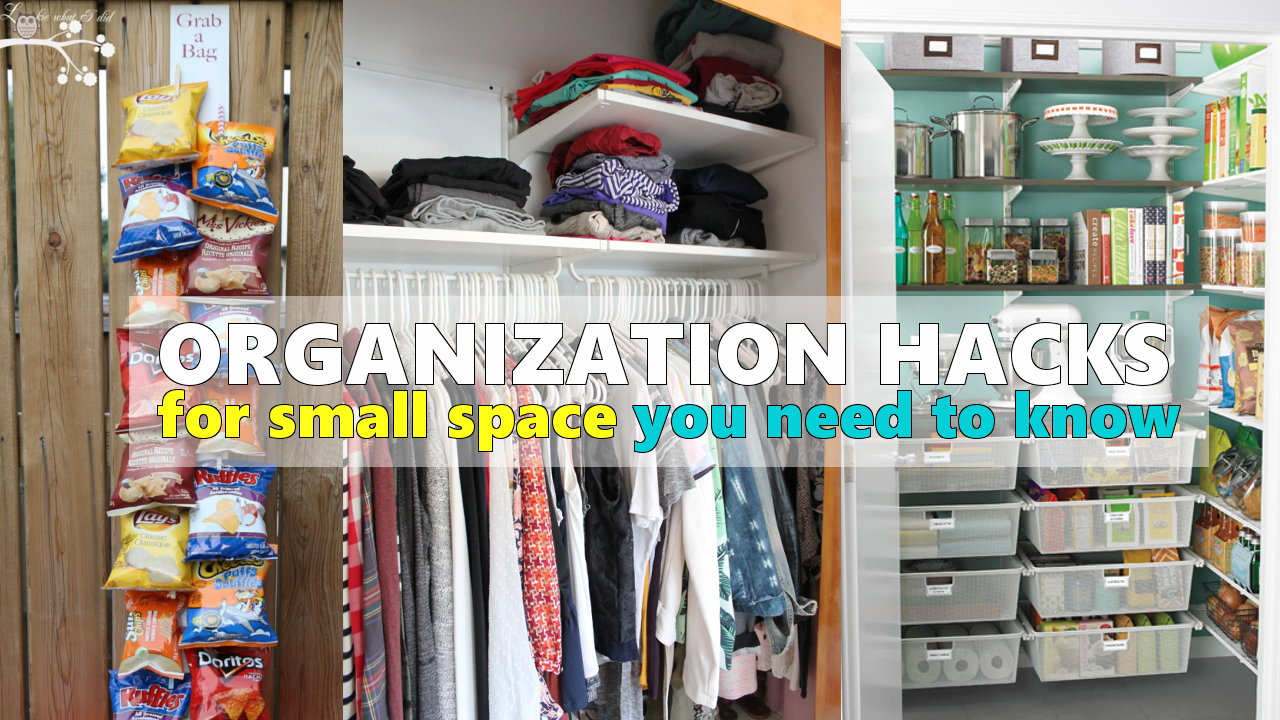 Organization ideas for small space