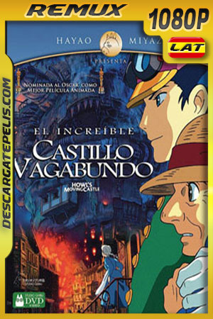 El increíble castillo vagabundo (2004) 1080p BDRemux Latino – Japones