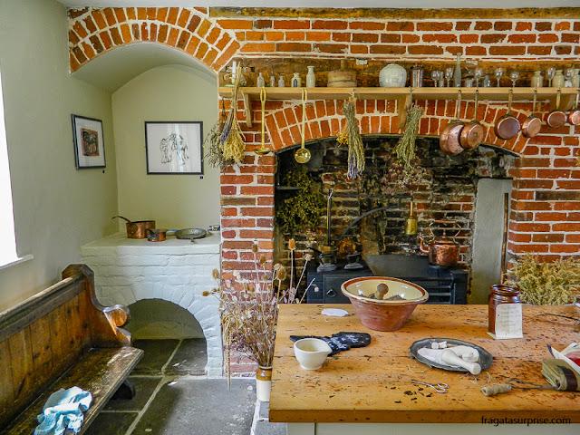 Cozinha da Casa Museu de Jane Austen