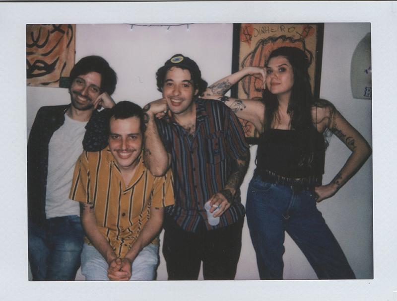 "Brazilian experimental punk rock band Baco Doente and their Midnight Movie - ""Denim on Denim"""