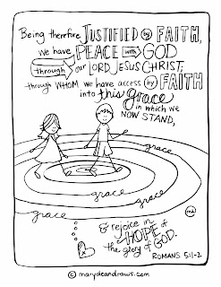 When imperfect motherhood leads us back to grace for Grace coloring page