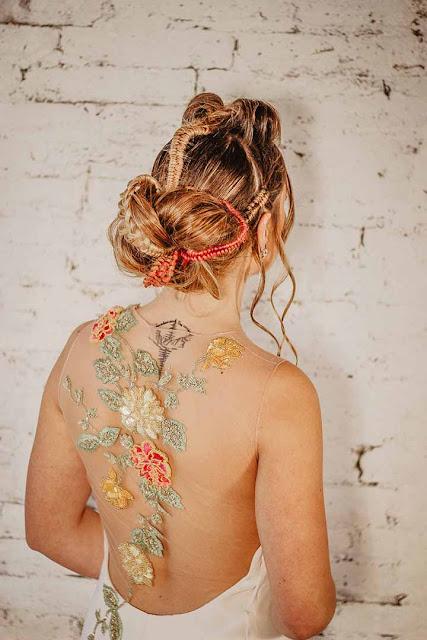peinados de novias peluquerias