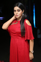Poorna in Maroon Dress at Rakshasi movie Press meet Cute Pics ~  Exclusive 81.JPG