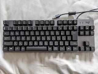 【お手頃メカニカルキーボード】ロジクール K835をレビュー