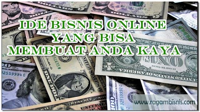 Anda BIsa Kaya Dengan Melakukan Bisnis Online