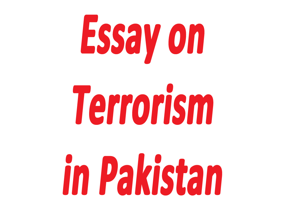 essays in english on terrorism in pakistan