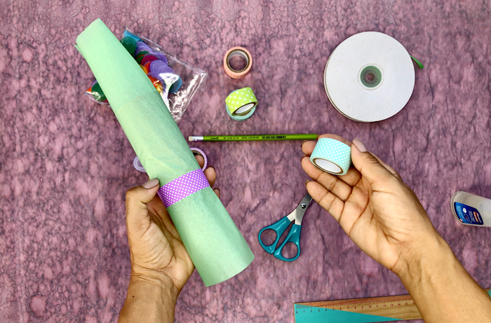 diy, party poppers, party ideas, party, washitape, toilet paper rolls, quarantine diy, eco friendly. reuse