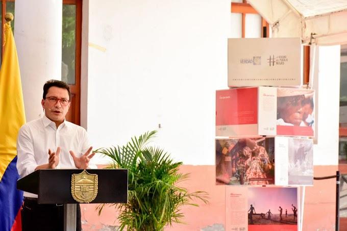 Gobernador Caicedo solicitó acompañamiento para devolverles tierras y proteger al consejo comunitario Rincón Guapo Loverán