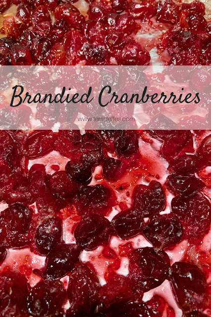Easy Brandied Cranberries
