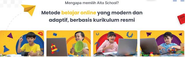 sekolah online Alta School