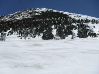 大岳を眺める