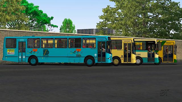 OMSI 2 - Busscar Urbanuss 1998 MB OF-1721 e VW 16-210 CO Euro II