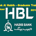 Bank Al Habib – Graduate Traine Officer