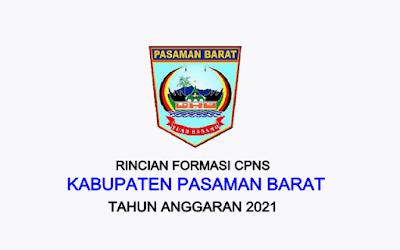 Formasi CPNS Kabupaten Pasaman Barat Tahun 2021