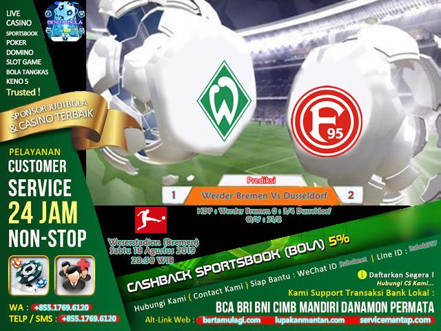 Prediksi Werder Bremen Vs Dusseldorf - ituBola