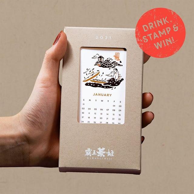 Limited-Edition BaWangChaJi 2021 Calendar