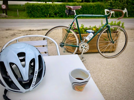 French Village Diaries covid-19 vaccinations morning coffee