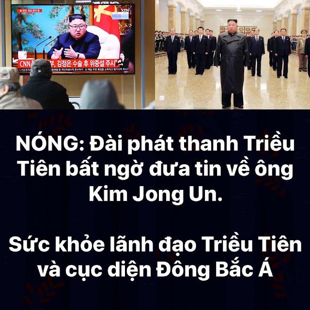 Đài truyền hình Triều Tiên đã đưa tin về Kim Jong Un, nhưng tin sức khỏe vẫn là bí mật
