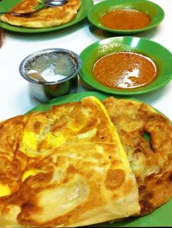 Roti prata makanan khas singapura