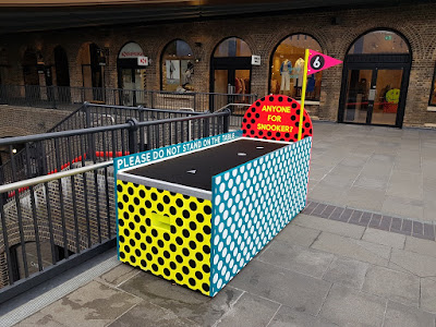 Club Golf Crazy Golf course at Coal Drops Yard in King's Cross, London