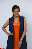 Priyamani in Beautiful Short Deep neck Orange Dress ~  Exclusive 30.JPG