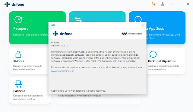 Dr.Fone Wondershare  ToolKit for iOS and Android Full v10.0.10.63 Download