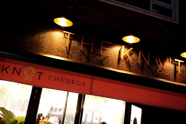 THE PERFECT INSTAGRAM HOT SPOT AT THE KNOT CHURROS IN SOUTH KENSINGTON