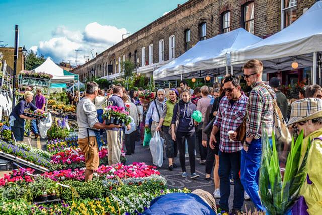Chợ hoa Columbia