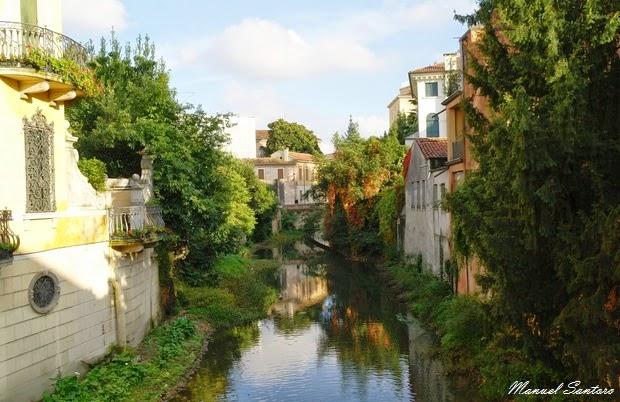 Padova, scorcio dal ponte di via Belludi