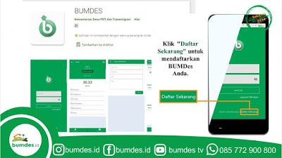 Digitalisasi BUMDes Wajib Registrasi Secara Online