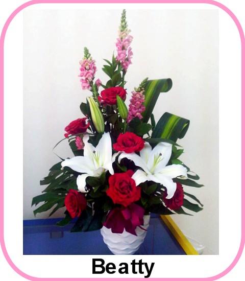 Kirim Rangkaian Bunga Ulang Tahun Happy Birthday Ke Modernland