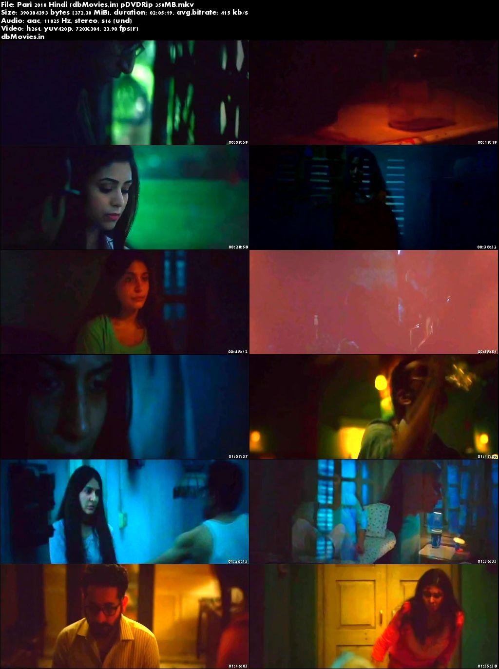 Poster Pari 2018 Full Movie Download HD Hindi 300MB 480p