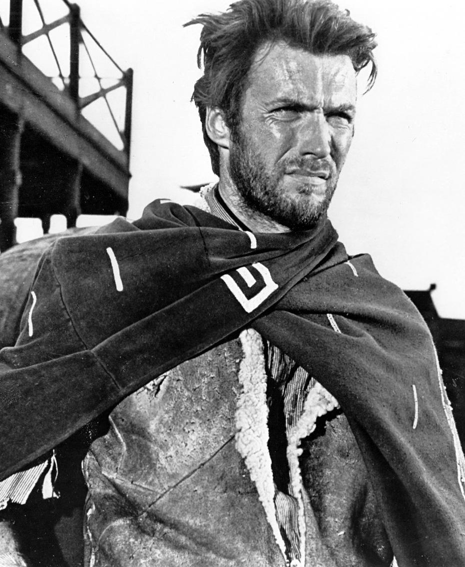 Fotografía de Clint Eastwood tomada en 1960