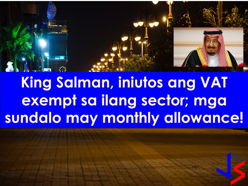The Custodian of the Two Holy Mosques announced that the whole government staff and military personnel will receive SR1,000 per month as a cost of living allowance. This allowance will be given for a period of one year. Military personnel serving at Yemen frontline will get a much bigger payment of SR5,000.  Aside from the allowances, Saudi civic and military personnel will be given an annual bonus starting this year. It said that the bonus should be given effective January 1, 2018.   It was Crown Prince Muhammad Bin Salman, deputy premier and minister of defense who recommends for the new allowances.