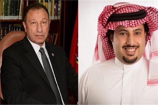 تركي آل الشيخ يرحب بمبادرة إتحاد كرة القدم والخطيب لإقامة السوبر المصري السعودي بمشاركة الأهلي