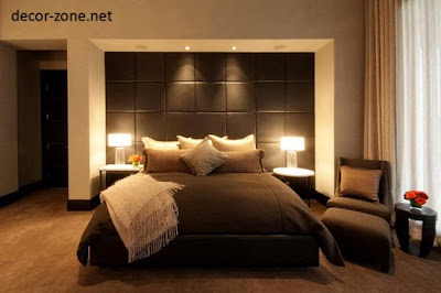 bedroom lighting ideas, lampshades lighting