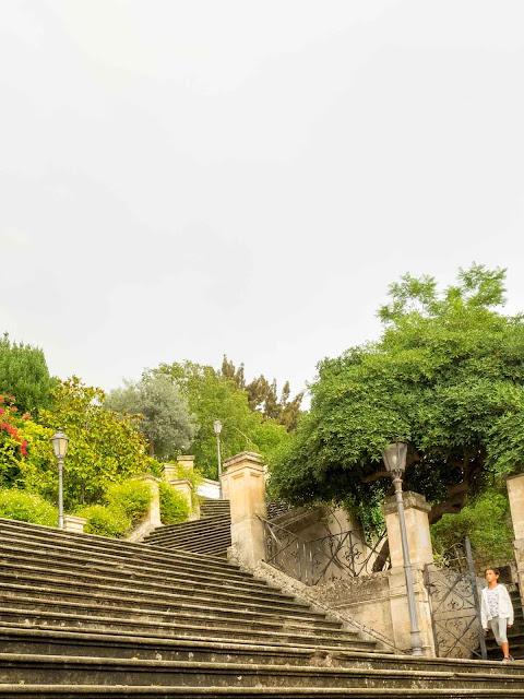 Modica, scalinata e giardini per il Duomo di S. Giorgio ©Valeriaderiso