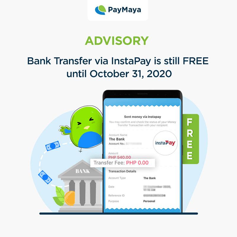 The transaction fee will start on November 1 instead