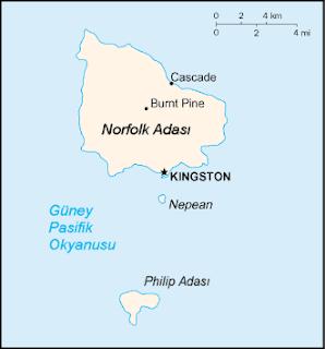 Norfolk Adası Hakkında Bilgi
