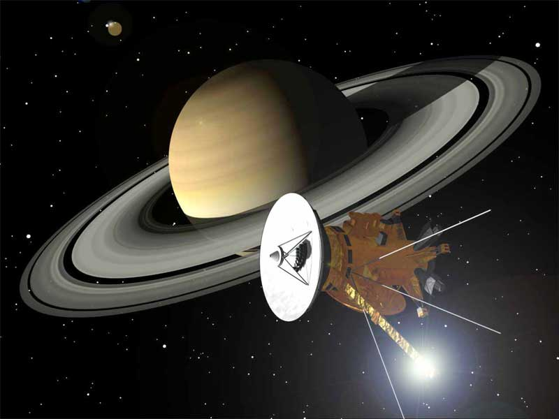Orbiter.ch Space News: Cassini Successfully Flies over ...