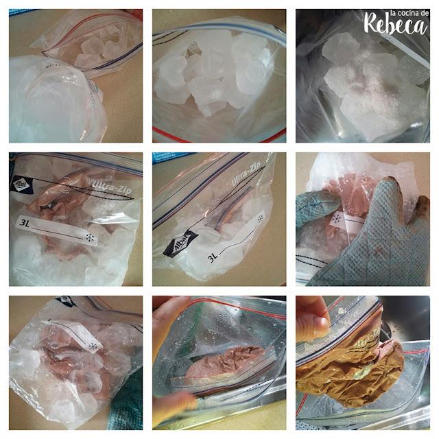 Cómo hacer helado en 10 minutos (paso 2)