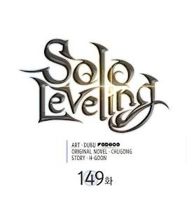 Update! Baca Manga Solo Leveling Chapter 149 Full Sub Indo